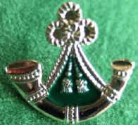 (Oxfordshire & Buckinghamshire Light Infantry) Enamelled Lapel Pin